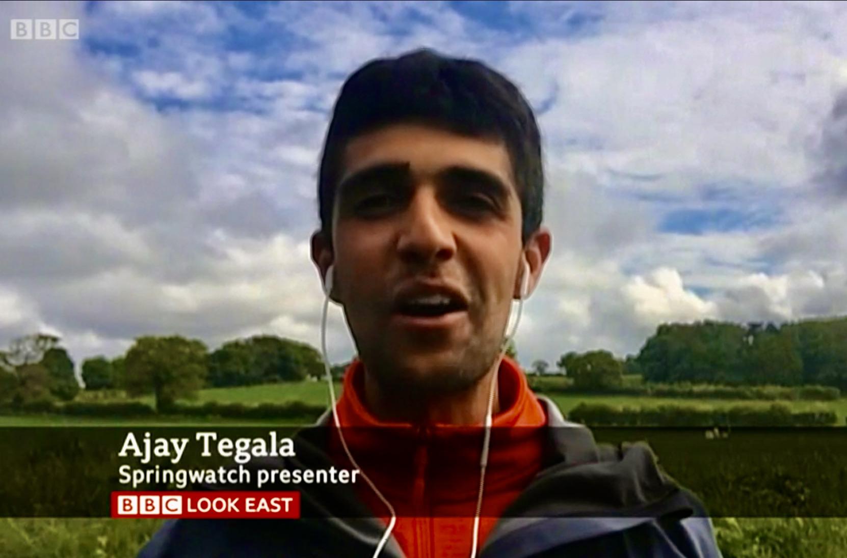 Ajay Tegala on BBC Look East