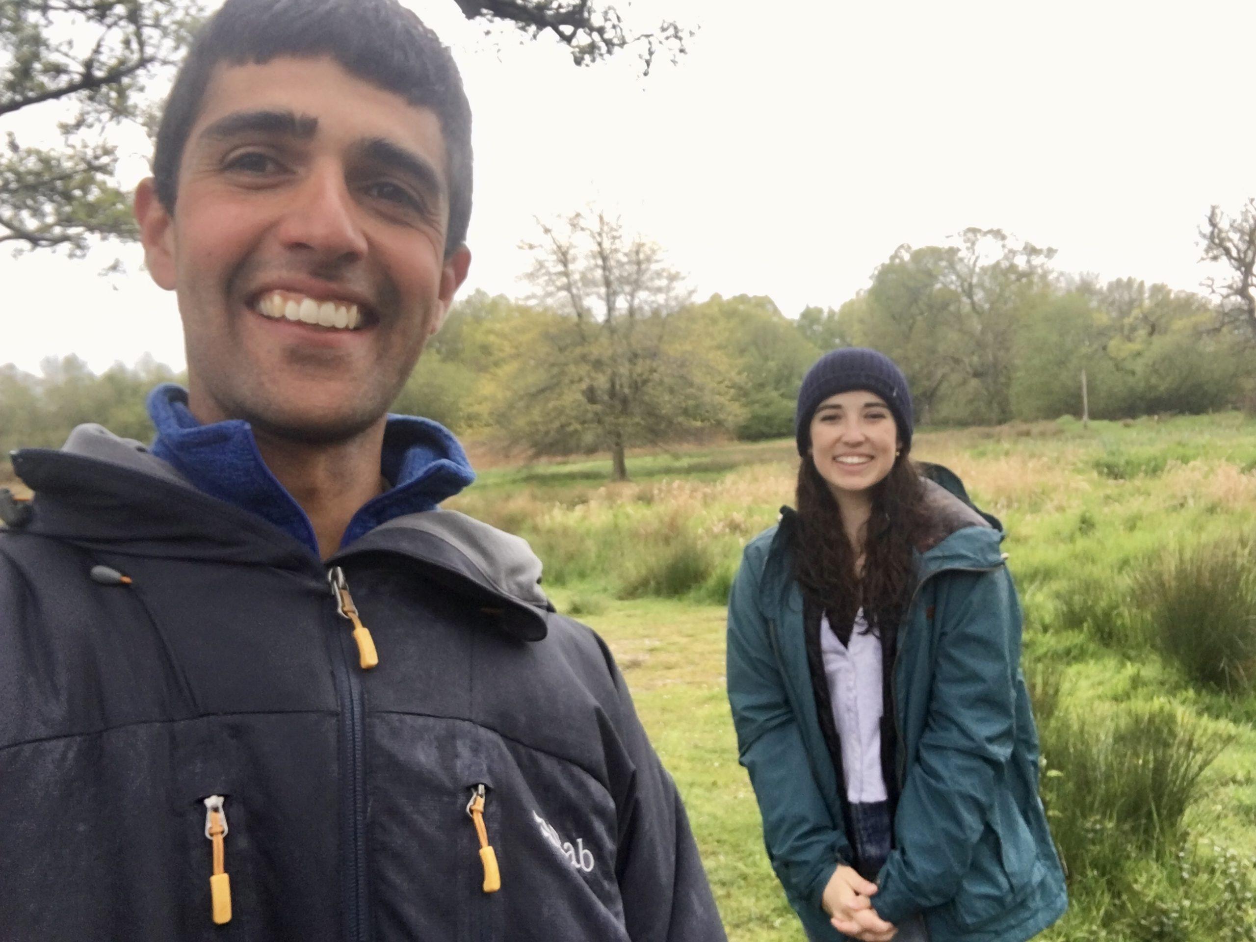 Ajay Tegala wildlife television presenter Megan McCubbin BBC Springwatch